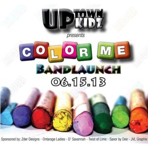 Uptown Kids Color me Band Launch 2013
