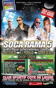 Montreal SocaRama 2013