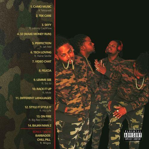 Fantom DunDeal Camo Music Album Cover 2